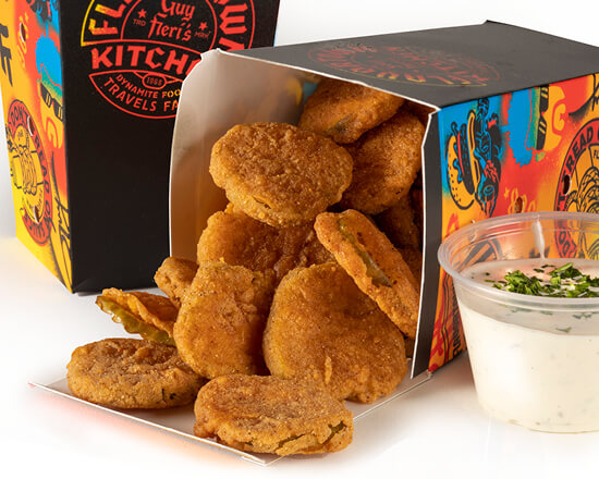 Fried Pickles & Ranch